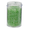 1 oz. Polystyrene Straight Sided Clear Jar with 38/400 Neck (Cap Sold Separately)