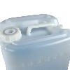 Fluorinated Tight Head Containers