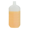 500mL Saturn Oval HDPE Bottle with 24/415 Neck (Cap Sold Separately)