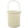 """3-3/8"""" ID x 5"""" H Polyethylene Straining Basket"""