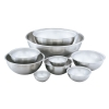 "3 Qt. Stainless Steel Mixing Bowl - 9-3/8"" OD x 4"" Deep"
