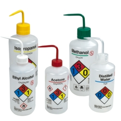 Thermo Scientific™ Nalgene™ Right-To-Know Narrow Mouth Safety Wash Bottles