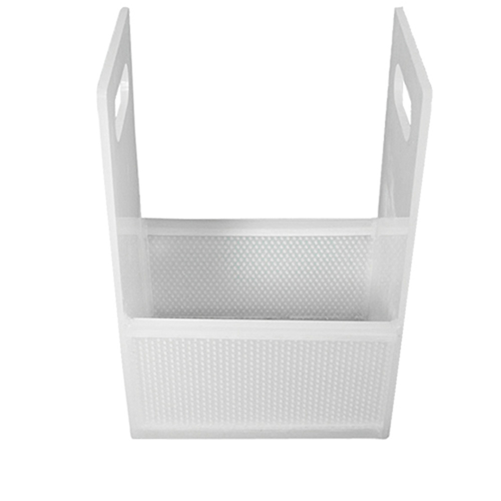 """12"""" x 8"""" x 6"""" Dipping Basket with 3/16"""" Perforation"""