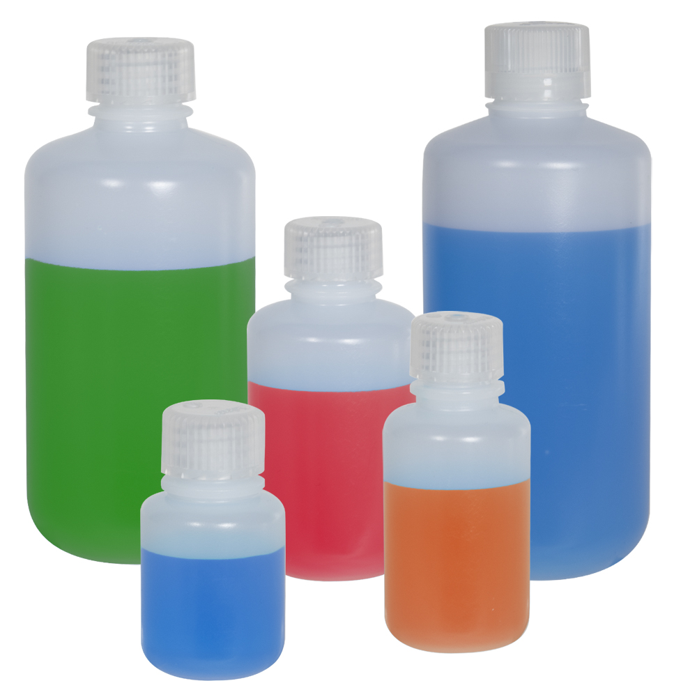 Thermo Scientific™ Nalgene™ Narrow Mouth Pass-Port IP2 HDPE Shipping Bottles with Caps