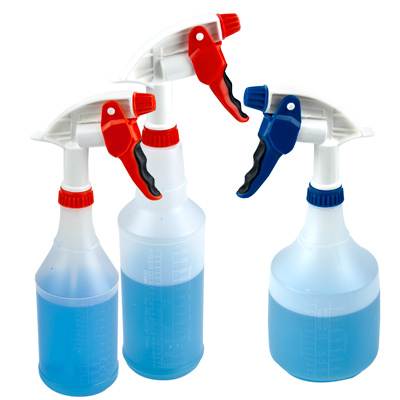 36 oz. Spray Bottle with Blue & White Sprayer