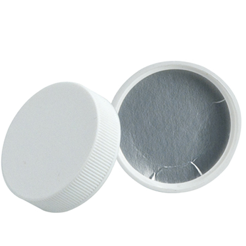 43/400 Polypropylene White Cap with Heat Induction Liner