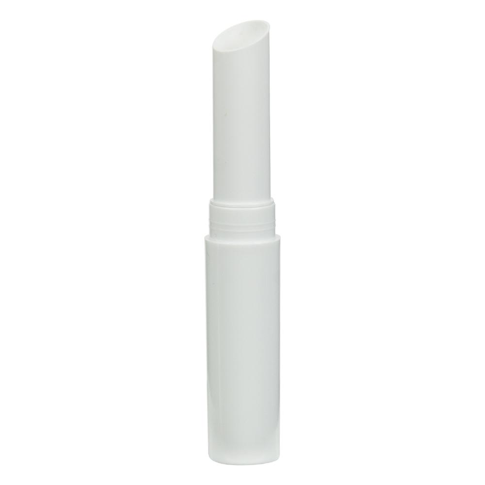 .07 oz. White Lip Stick Tube