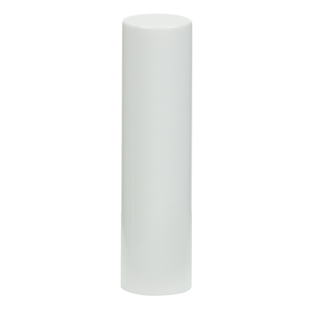 White Cap for .07 oz. White Lip Stick Tube