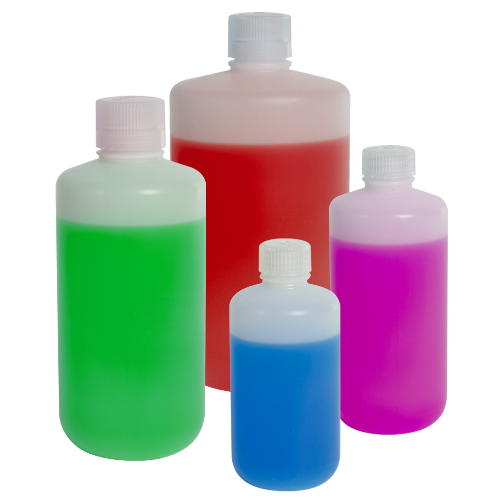 32 oz./1000mL Nalgene™ Level 5 Fluorinated Bottles with 38/430 Caps - Case of 24