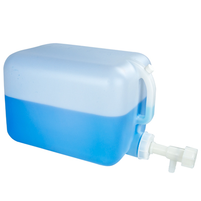 """5 Gallon Fortpack with Tamco® 3/4"""" HDPE Flow Spigot (Threads into Cap Knockout)"""