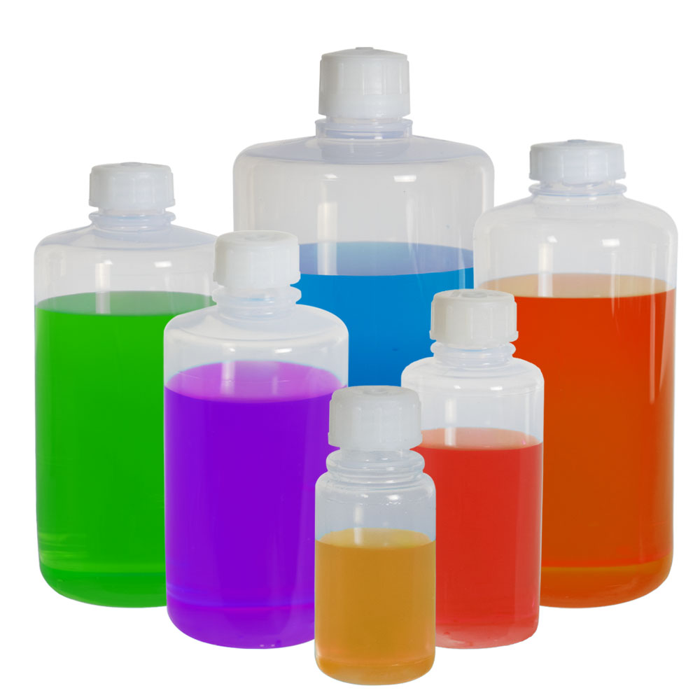 Thermo Scientific™ Nalgene™ Narrow Mouth FEP Bottles made with Teflon®* Resin