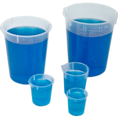 Disposable Polypropylene Beakers