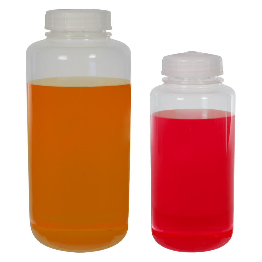 Thermo Scientific™ Nalgene™ Wide Mouth FEP Teflon®* Resin Bottles with Caps