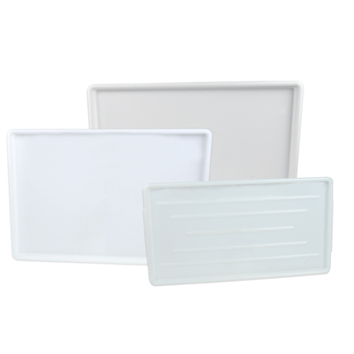 White High Impact Styrene Tray
