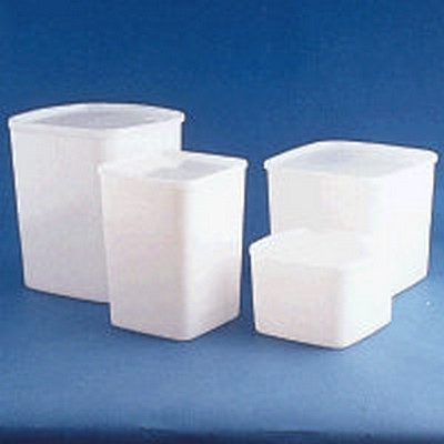 HDPE Space-Saver Storage Containers