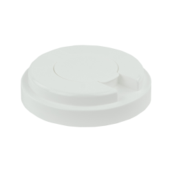120mm Snap Top Cap for Towel Wipe Canister- White