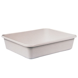 White High Density Polyethylene Trays