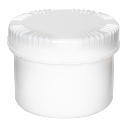 500mL HDPE UN Rated White Packo Jar with White Lid