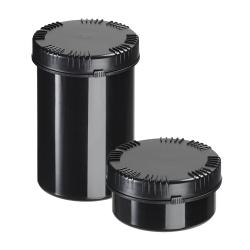 1000mL Black HDPE Packo Jar with Lid