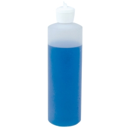 Cylindrical Sample Bottles with Flip Top Caps