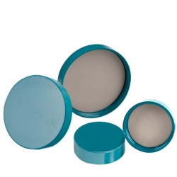 24/400 Green Melamine Cap with F217 & PTFE Liner