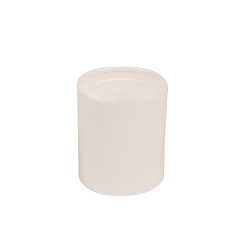 50mL White Polypropylene Pearl Airless Dispenser  (Pump Sold Separately)