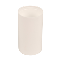 100mL White Polypropylene Pearl Airless Dispenser  (Pump Sold Separately)