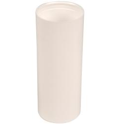 150mL White Polypropylene Pearl Airless Dispenser  (Pump Sold Separately)