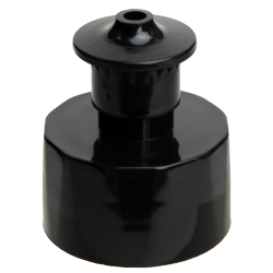 28/410 Black Push-Pull Closure with .135