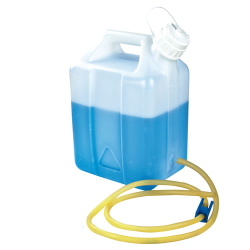 2-1/2 Gallon Nalgene™ Jerrican Modified by Tamco® with Tubing & Pinch Spigot