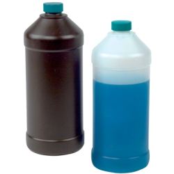Hydrocarbon Barrier Bottles with Caps