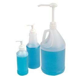 16 oz. Translucent HDPE Bottle & Pump