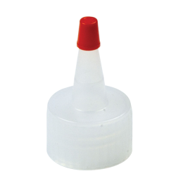 28/410 Natural Yorker Spout Cap with Regular Red Tip