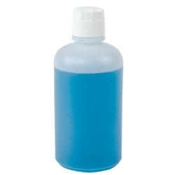 HDPE Boston Round Bottle with Cap