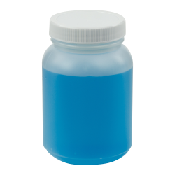 8.3 oz. Wide Mouth Round HDPE Jars with 53/400 Cap