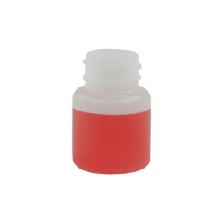 1 oz. Wide Mouth Round HDPE Jar 28/400 Neck  (Cap Sold Separately)