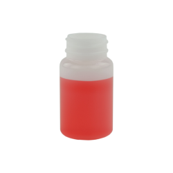 2 oz. Wide Mouth Round HDPE Jar 33/400 Neck  (Cap Sold Separately)