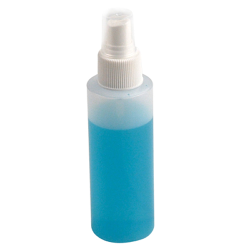 8 oz. Cylinder Applicator Spray Bottle with Finger Tip Mist Sprayer