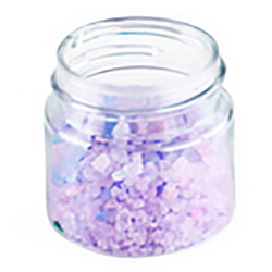 1/2 oz. Clear PET Straight Sided Jar with 33/400 Neck (Cap Sold Separately)
