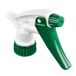 28/400 Green & White Sprayer with 7-1/4