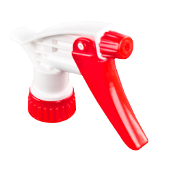 28/400 Red & White Sprayer with 9-1/4