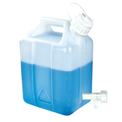 "2-1/2 Gallon Tamco® Modified Nalgene™ Jerrican with 3/4"" HDPE Flow Spigot"