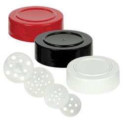 Polypropylene Spice Jar Caps & Sifters
