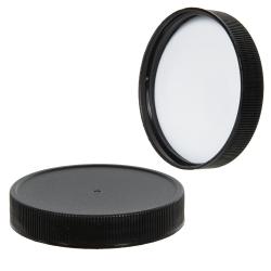 15mL Black Mini Airless Dispenser with Cap