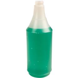 32 oz. HDPE Delta Round Spray Bottle with 28/400 Neck (Sprayer Sold Separately)