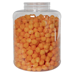 300 oz. Clear PET Jar with 120/400 Neck (Caps Sold Separately)