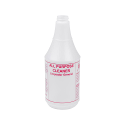 24 oz. All Purpose Cleaner Bottle with 28/400 Neck (Sprayer or Cap Sold Separately)