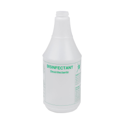24 oz. Disinfectant Bottle with 28/400 Neck (Sprayer or Cap Sold Separately)