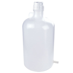5 Gallon Tamco ® Modified Nalgene™ LDPE Carboy with Tubulation
