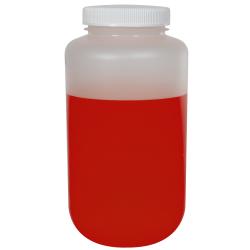1 Gallon Nalgene™ Polypropylene Large Wide Mouth Bottle with 100mm Cap